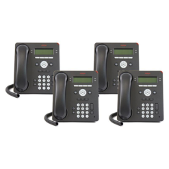 4 pack of Avaya 9504 Digital Telephones Global in multi-pack box